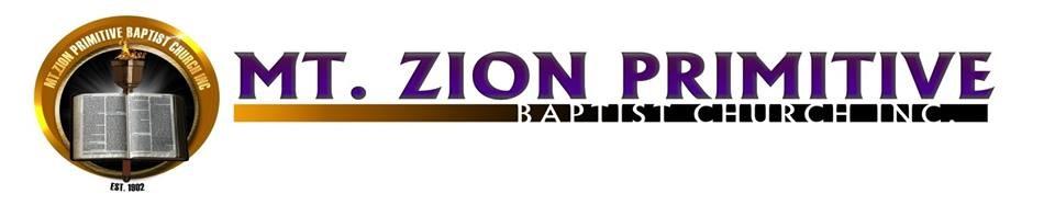 Mt. Zion Primitive Baptist Church